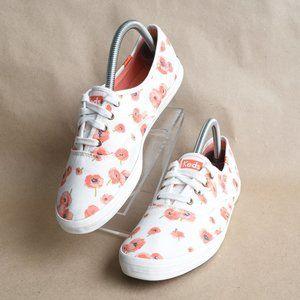 * KEDS Poppy Print Canvas Sneaker-Women's 8